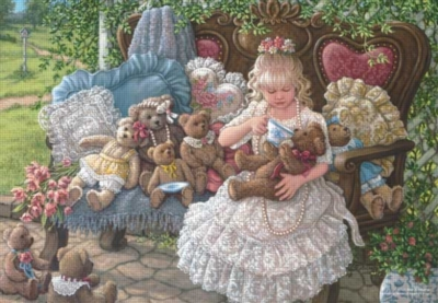 Holly's Bears - 260pc Jigsaw Puzzle by Perre