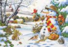 Frosty's Gifts - 260pc Jigsaw Puzzle by Perre