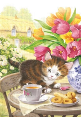 Morning Tea - 260pc Jigsaw Puzzle by Perre