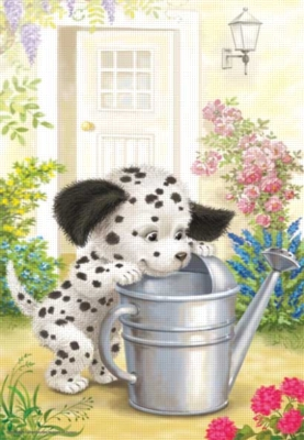 Naughty Dalmation - 260pc Jigsaw Puzzle by Perre