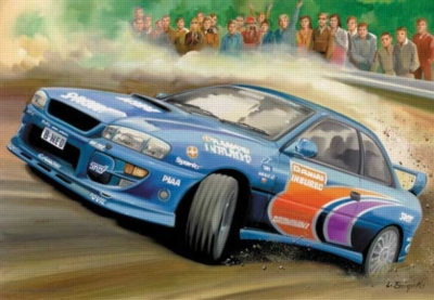 Rally - 260pc Jigsaw Puzzle by Perre