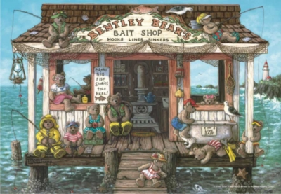 Perre Jigsaw Puzzles - Bentley Bear's Bait Shop