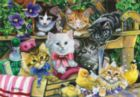 Bathtime Kittens - 260pc Jigsaw Puzzle by Anatolian