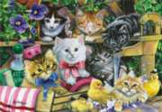 Bathtime Kittens - 260pc Jigsaw Puzzle by Perre