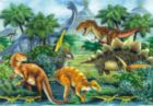 Dino Valley I - 260pc Jigsaw Puzzle by Perre