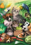 Magic Pets - 260pc Jigsaw Puzzle by Perre
