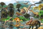 Dino Valley II - 260pc Jigsaw Puzzle by Perre