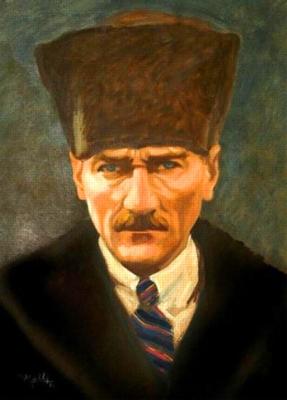 Mustafa Kemal Atat�rk - 500pc Jigsaw Puzzle by Anatolian