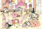 Valentene's Day Cats - 500pc Jigsaw Puzzle by Perre