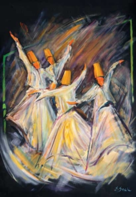 Perre Jigsaw Puzzles - Whirling Dervishes