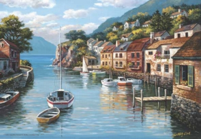 Perre Jigsaw Puzzles - Village On The Water