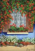 Perre Jigsaw Puzzles - Floral Window