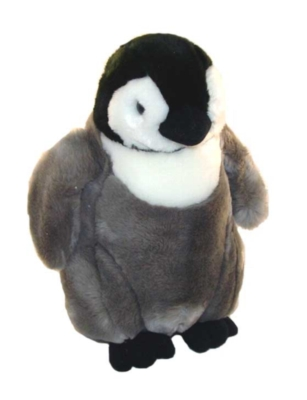 "Emperor Penguin Chick - 12"" Penguin By Wildlife Artists"