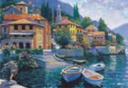 Lake Como Landing - 2000pc Jigsaw Puzzle by Perre