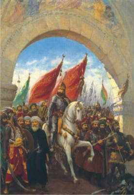 Perre Jigsaw Puzzles - Entering To Constantinople