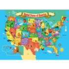 USA Map - 60pc Jigsaw Puzzle by Masterpieces