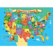 Children's Puzzles - USA Map