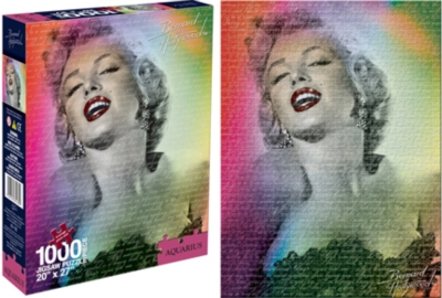 Marilyn Monroe: Color - 1000pc Jigsaw Puzzle by Aquarius