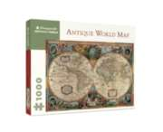 Jigsaw Puzzles - Antique World Map