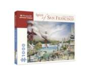 Spirit Of San Francisco - 1000pc Jigsaw Puzzle by Pomegranate