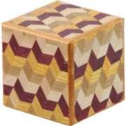Japanese Puzzle Box - 2 Sun Cube: 4 Step: Yabane