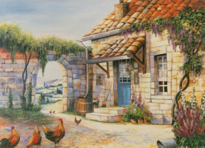 The Promenade - 500pc Jigsaw Puzzle by Tomax