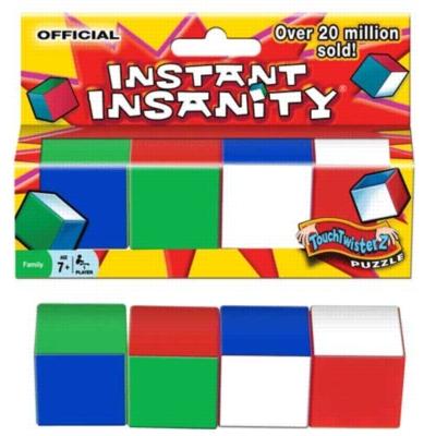 Instant Insanity II - Brain Teaser