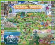 Bend, Oregon - 1000pc Jigsaw Puzzle By White Mountain