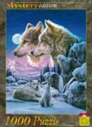 Wolf Couples - 1000pc Jigsaw Puzzle by Spiel Spass