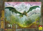Dragons In Flight - 1000pc Jigsaw Puzzle by Spiel Spass