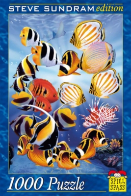 Tropical Fish - 1000pc Jigsaw Puzzle by Spiel Spass