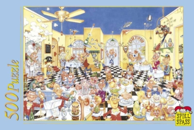 Cool Restaurant - 500pc Jigsaw Puzzle by Spiel Spass