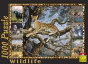 Leopard - 1000pc Jigsaw Puzzle by Spiel Spass
