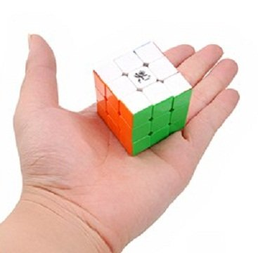Puzzle Cubes - Speed Cube, 3x3x3, Stickerless, MINI Size 42mm