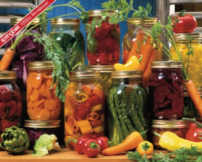 Canned Veggies - 1000pc Jigsaw Puzzle by Springbok