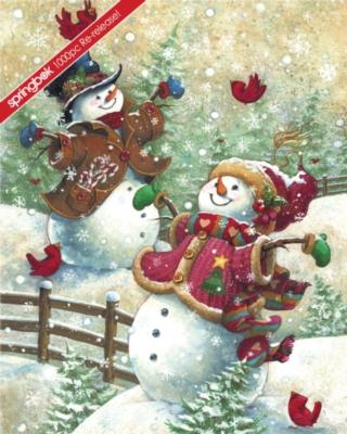Springbok Jigsaw Puzzles - Gotta Love Snow