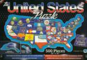 The United States - 500pc Educational Jigsaw Puzzle