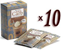Big Train Low Carb Blended Ice Coffee - Single Serve Packet Assorted Case