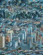 Salt Lake Winter - 500pc Jigsaw Puzzle by Dowdle