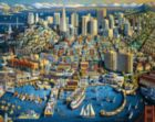 San Francisco - 1000pc Jigsaw Puzzle by Dowdle