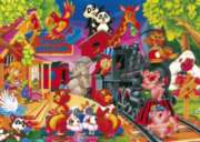 Noah's Station - 99pc Jigsaw Puzzle by Kindertraume