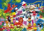 Noah's Cruise - 99pc Jigsaw Puzzle by Kindertraume
