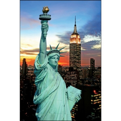 New York City - 1000pc Jigsaw Puzzle by Kindertraume