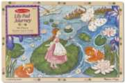 Melissa and Doug Jigsaw Puzzles for Kids - Lily Pad Journey