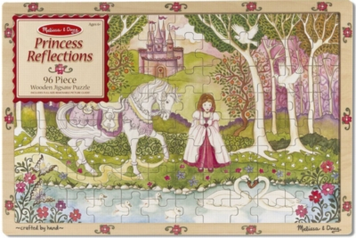 Melissa and Doug Jigsaw Puzzles for Kids - Princess Reflections
