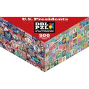 US Presidents - 500pc Double-Sided Jigsaw Puzzle by Pigment & Hue