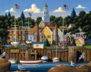 Marblehead - 500pc Jigsaw Puzzle by Dowdle