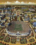 Notre Dame Football - 500pc Jigsaw Puzzle by Dowdle