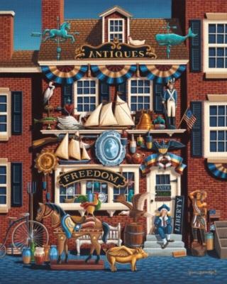 Dowdle Jigsaw Puzzles - Antique Store