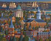 Annapolis - 500pc Jigsaw Puzzle by Dowdle